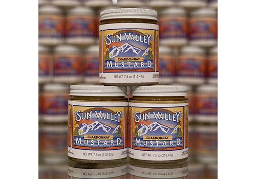 Sun Valley Mustard 7.5oz Jar Chardonnay