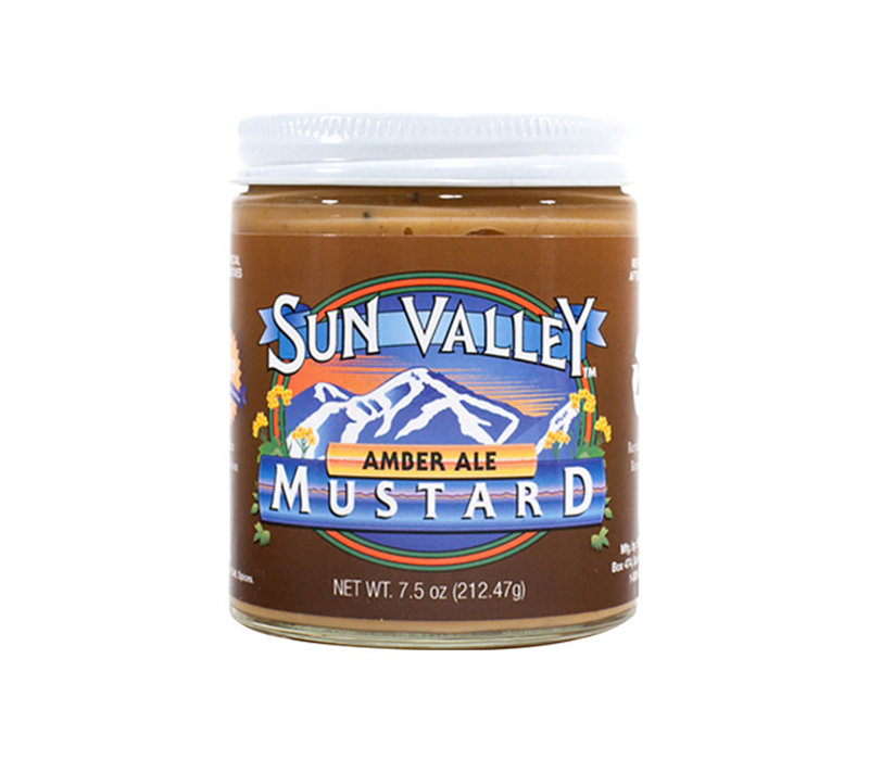 Sun Valley Mustard 7.5oz Jar Amber Ale