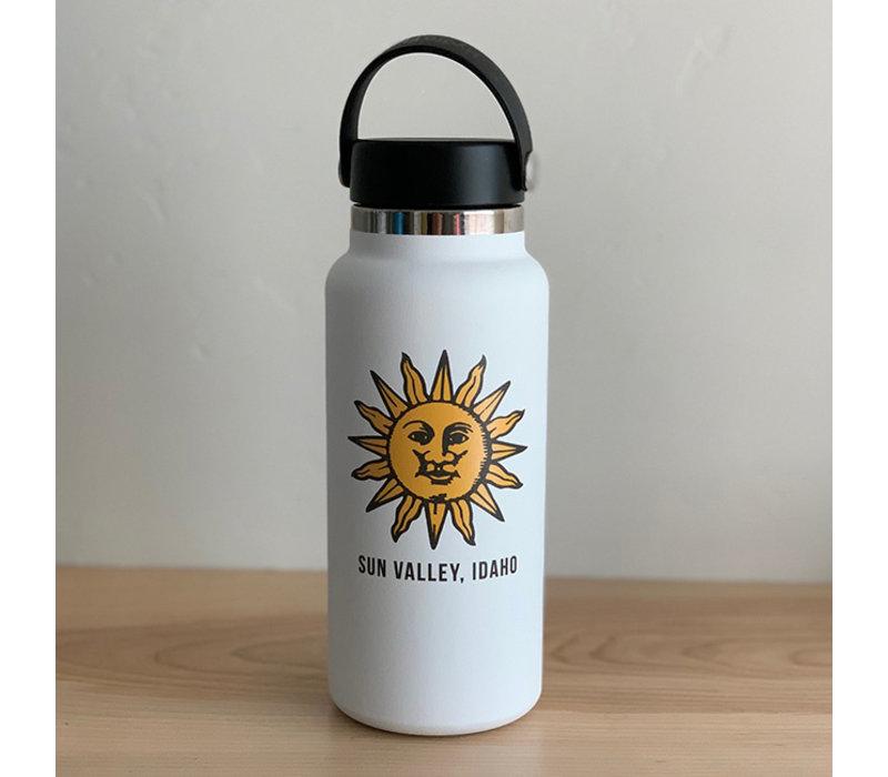 HydroFlask Sun Valley Sun 32oz Wide Mouth - White