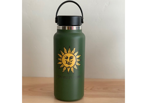 HydroFlask Sun Valley Sun 32oz Wide Mouth - Olive