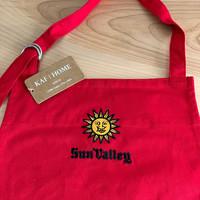 Sun Valley D-Ring Apron - Cherry