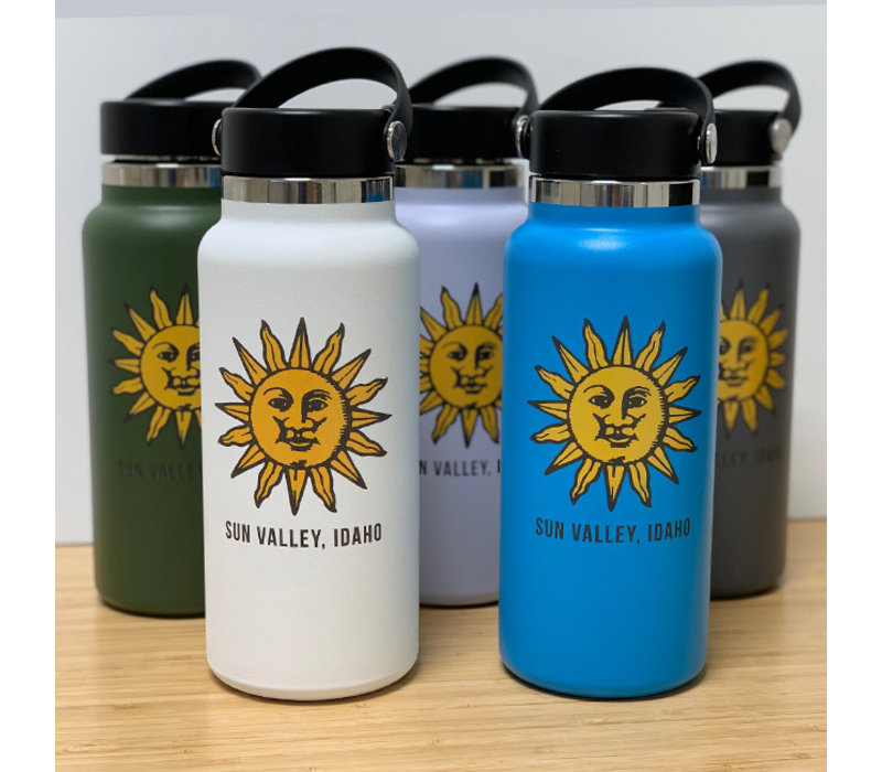 HydroFlask Sun Valley Sun 32oz Wide Mouth - Pacific