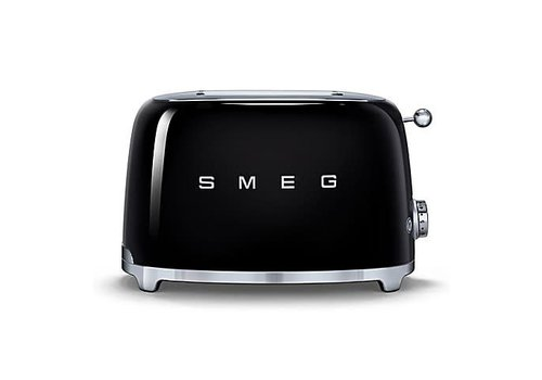 SMEG SMEG 2-Slice Toaster - BLACK - TSF01BLUS