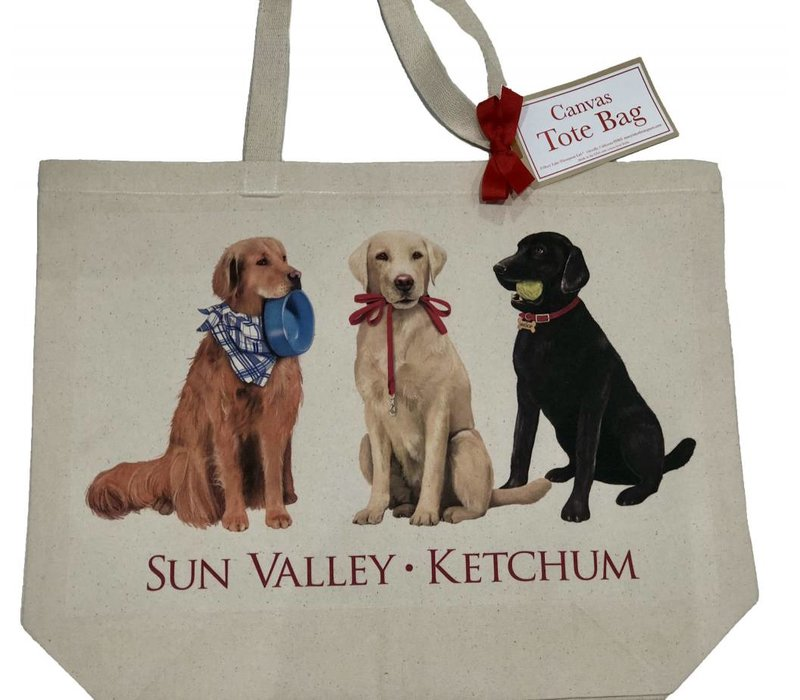 MLT Dog Friends Tote Custom - CUSTTB156