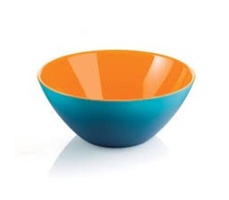"Guzzini ""MyFusion"" Bowl Blue/Orange - 281420145"