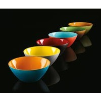 "Guzzini ""MyFusion"" Bowl Blue/Orange - 281420145"