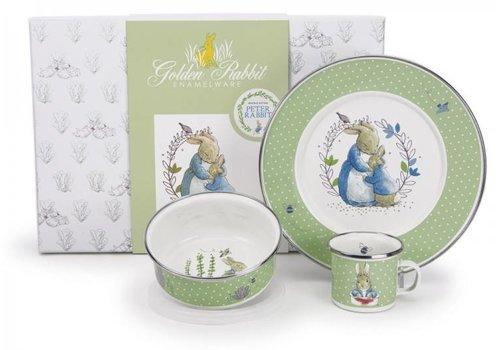 Golden Rabbit Polka Dot Peter Gift Box Set