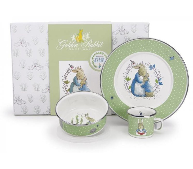 Golden Rabbit Polka Dot Peter Gift Box Set
