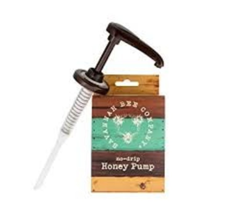 Savannah Bee No-Drip Honey Pump for 12oz