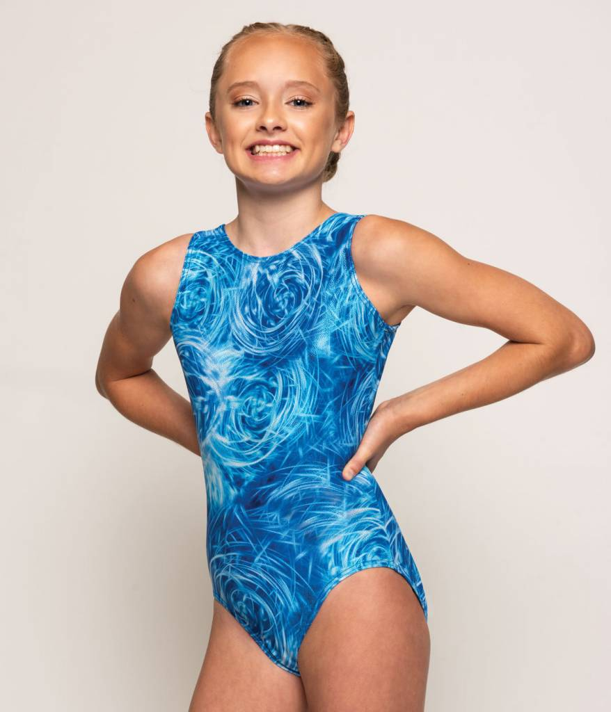 MotionWear 1410-246-Gym Tank Leotard