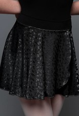 MotionWear 1011-Pull On Wrap Skirt