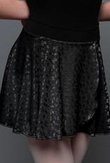 MotionWear 1011-Pull On Wrap Skirt