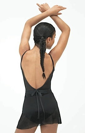 Capezio 11502W-Lace Back Camisole Leotard