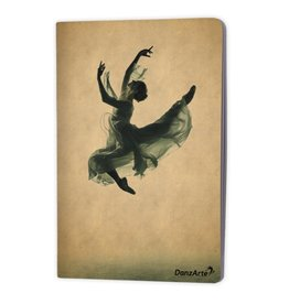 "DanzArte NO-A6-M02-Suspended Laminated Notebook-(3.5""X5.5"")"