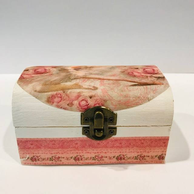 "Intermezzo 9053-Ballerina Rectangular Box (5""x3""x3"")"