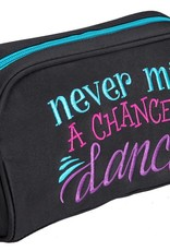 Sassi Designs NMC-60-Never Miss A Chance To Dance Cosmetic Bag