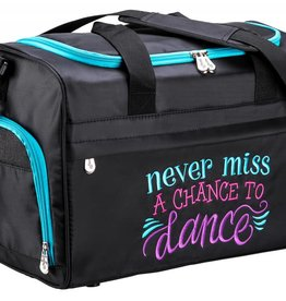 Sassi Designs NMC-02-Never Miss a Chance to Dance Duffel