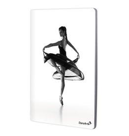 "DanzArte NOA4-M01-""Turning Pointe"" A4 Laminated Notebook (8.5""X11"")"