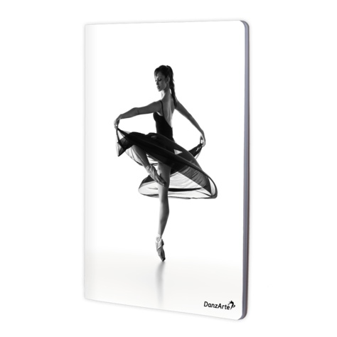 "DanzArte NOA4-M01-""Turning Pointe"" A4 Laminated Notebook (8.5""X11"")"