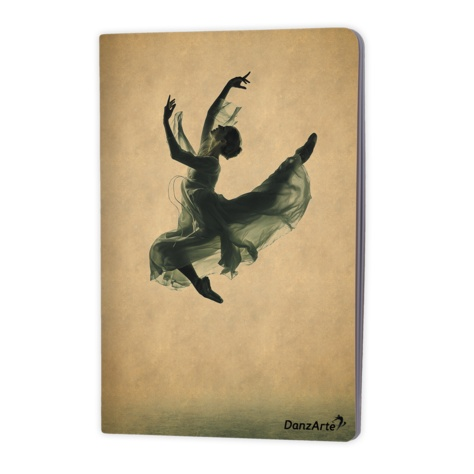 "DanzArte ""Suspended"" A5 Laminated Notebook (6''x8'')"