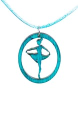 "DanzArte H03-TZ-""Turning Pointe"" Necklace"