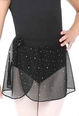 Capezio 11530C-Pull On Skirt Glitter Mesh