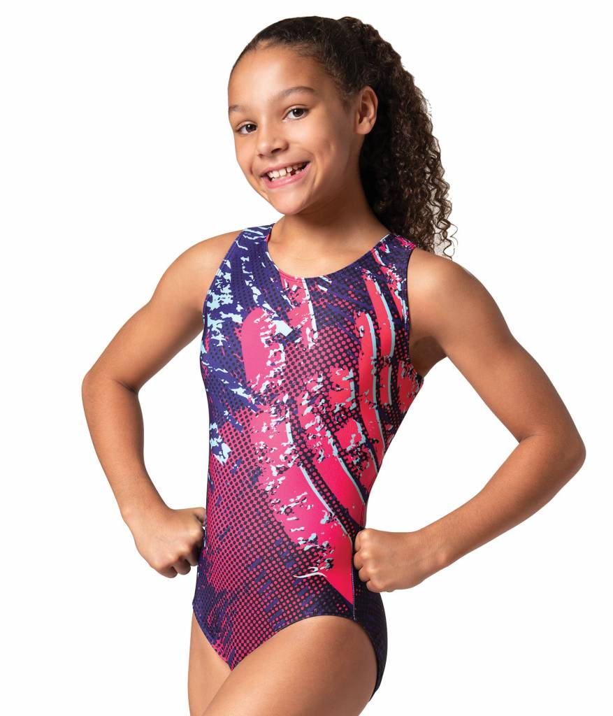 MotionWear 1258-812-Sublimation Light Beam Open Back Leo