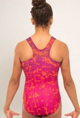 MotionWear 1337-812-Signature Fuchsia & Orange Leo
