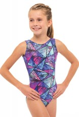 MotionWear 1410-372-Gym Tank Leotard-CRUISE