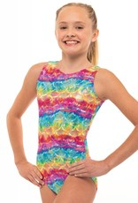 MotionWear 1410-359-Gym Tank Leo-RAINBOW CRAZE