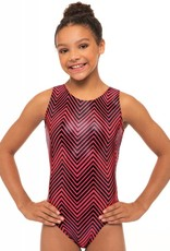 MotionWear 1410-339-Gym Tank Leotard-CHAOS