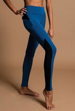 MotionWear 7274-Hight Waist Diagonal Legging With Pocket