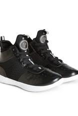 Pastry Dance PA191001-Adulte Ultimate Hip Hop Sneakers-BLACK / WHITE