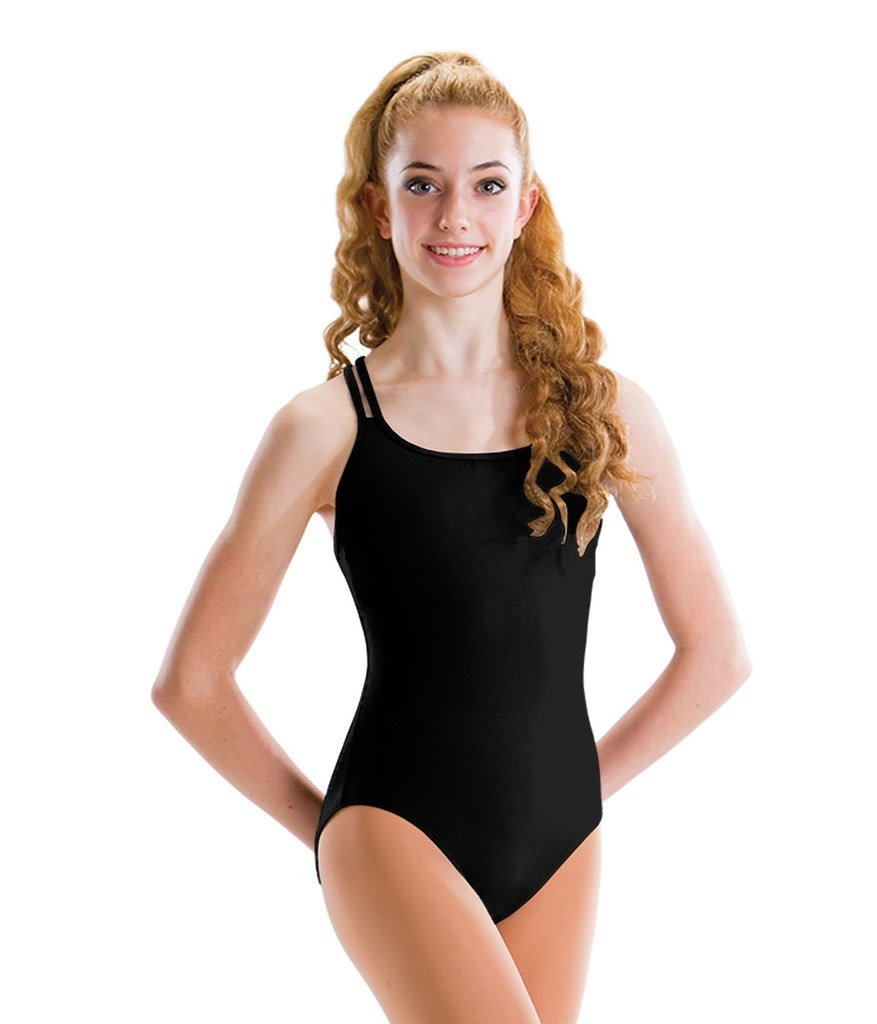 MotionWear 2496-4-Strap Double Cross Back Leotard