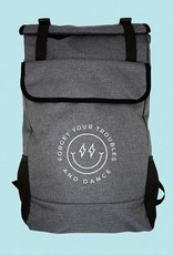 Covet Dance FYT-BP-Forget Your Troubles and Dance Roll-Top Backpack