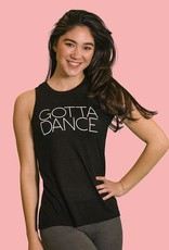 Covet Dance GD-SBTK-Adult Gotta Dance Slit Back Tank