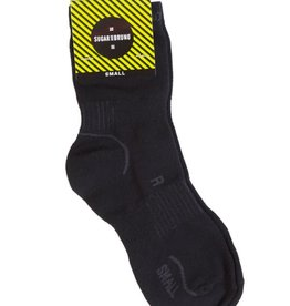 Sugar & Bruno D8895-Lightweight Performance Socks-BLACK