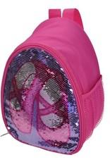 Capezio B222C-Reversible Glitter Backpack