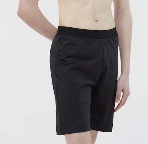 Wear Moi LORCA-  Men's Short Loose fit Microfiber-BLACK