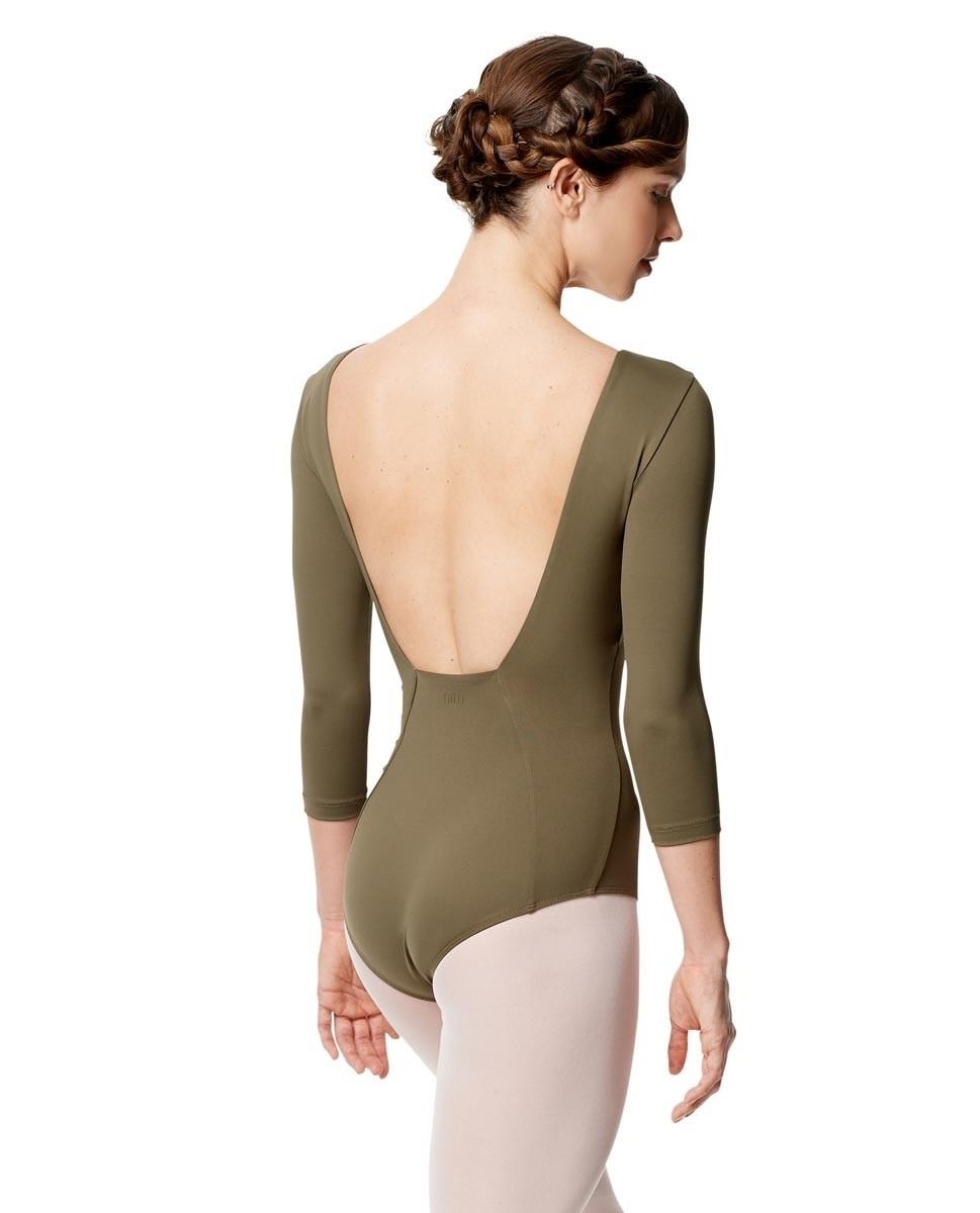 Lulli Dancewear LUB285-Nanette 3/4 Sleeve Leotard