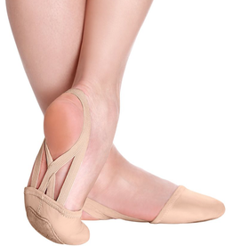 SoDanca BA42-Mischa Pirouette Leather-NUDE