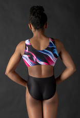 MotionWear 1929-812- Frequency Sublimation Open Back Leo