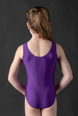 MotionWear 1702-474-Spangle Heart Gym Leotard
