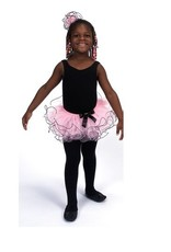 Dasha 4439 Ruffled Tutu With Headband-ONE SIZE CHILD
