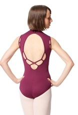 Lulli Dancewear LUB291-Microfiber Mock Neck Leotard