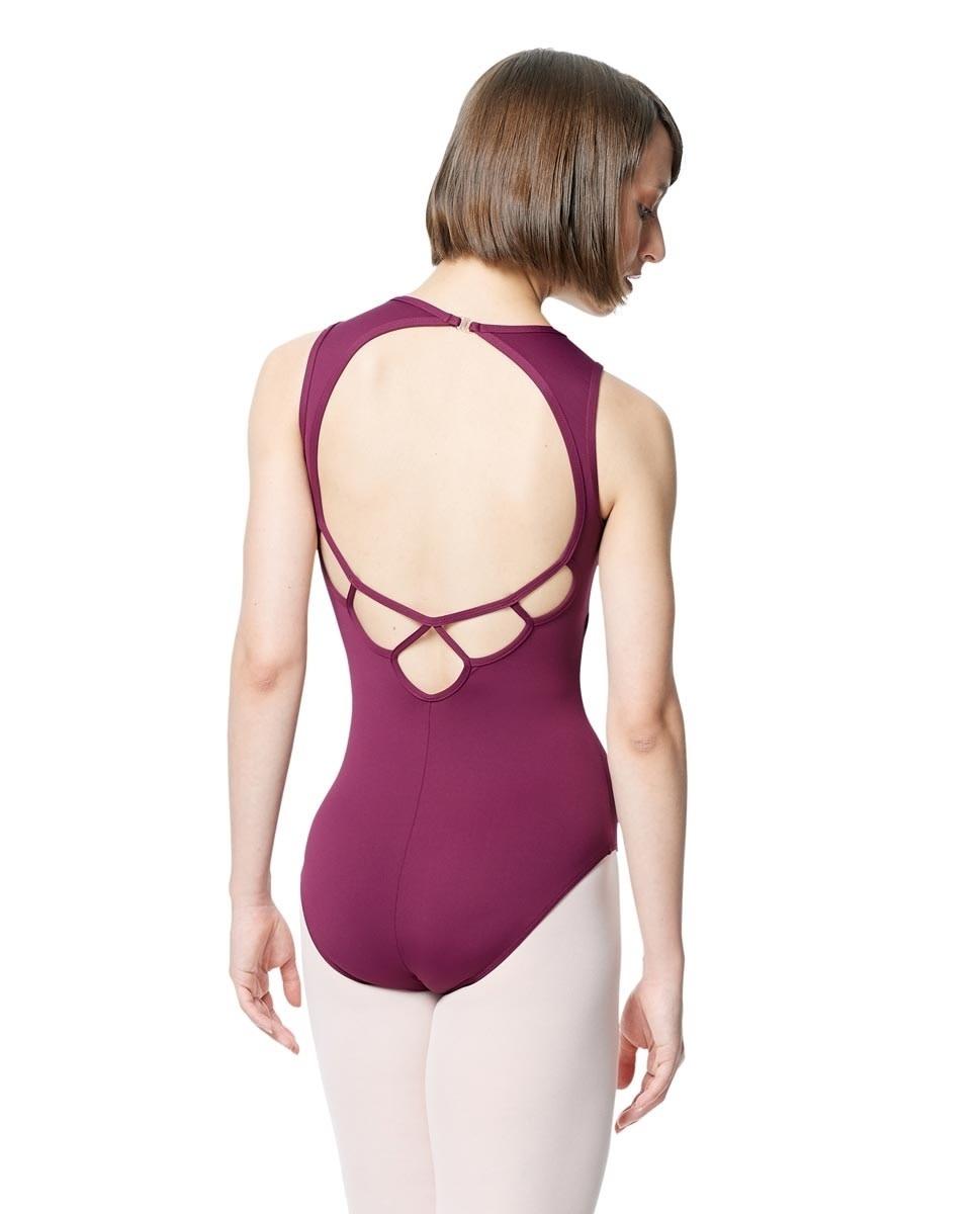 Lulli Dancewear LUB288-Microfiber Halter Neck Leotard -TEAL