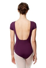 Lulli Dancewear LUB286-Microfiber Full Lining Short Sleeve Leotard