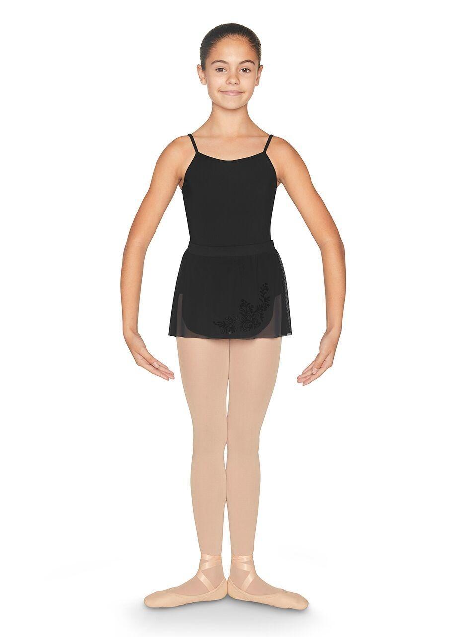 Bloch CR9931-Flock Wrap Skirt