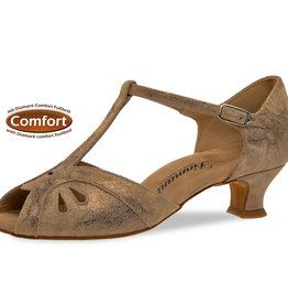Diamant 019-011-311-Ballroom Shoes 1.5'' Suede Sole-BRONZE SUEDE