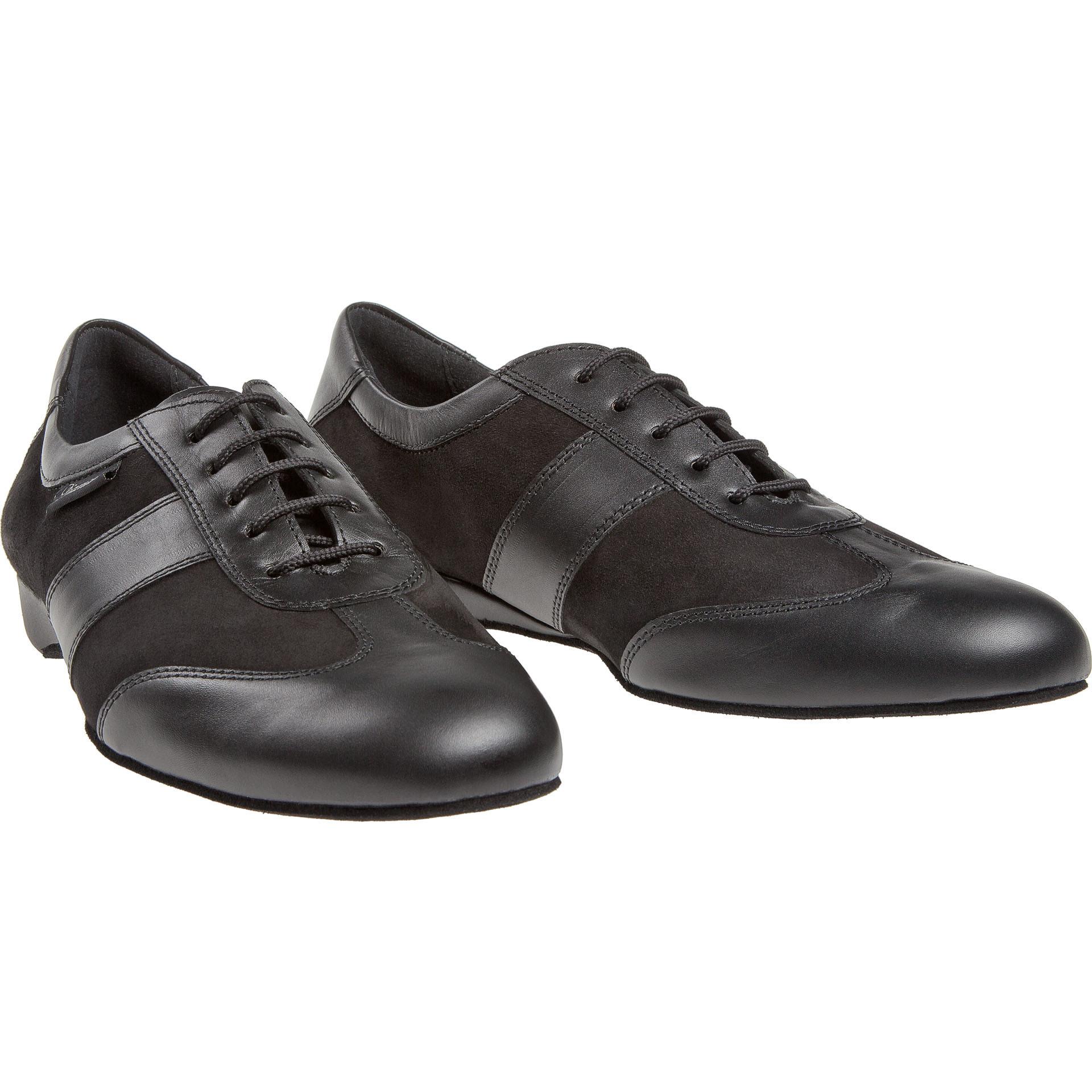 """Diamant 123-225-070-Chaussures de Danse Sport Homme 1 """" Semelle de Suède-CUIR/SUÈDE NOIR"""